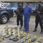 Incautación de cocaína en Rivas