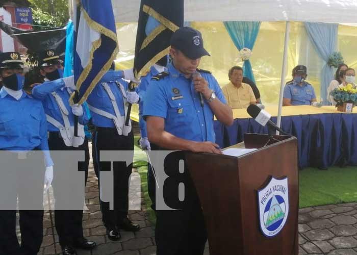 Acto por reapertura de la Comisaría de la Mujer en San Lorenzo, Boaco