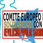 Comité Europeo de Solidaridad saluda a Nicaragua por la celebración del 42/19