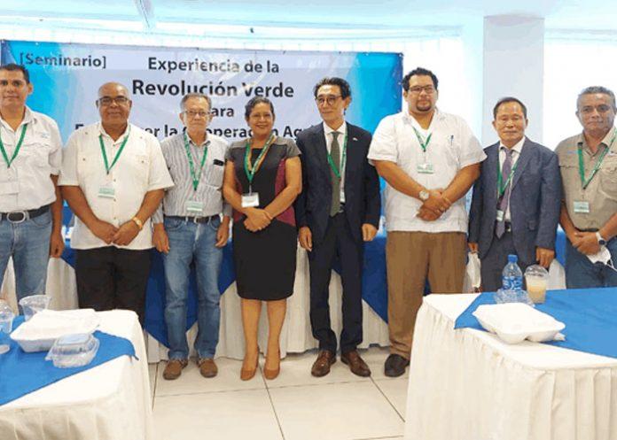 Foto: Seminario para fortalecer cooperación agrícola entre Corea y Nicaragua / Cortesía