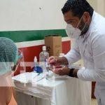 Atención para pacientes con la vacuna del COVID-19 en Managua