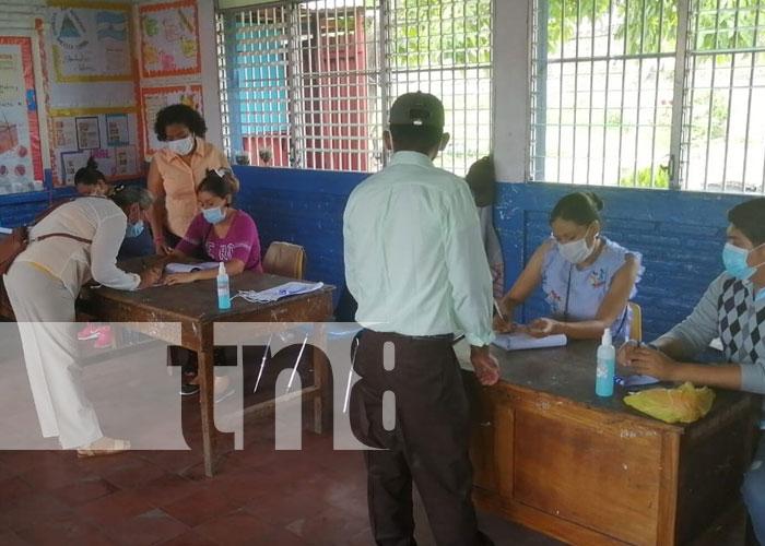 Foto: Jornada de verificación en Boaco / TN8