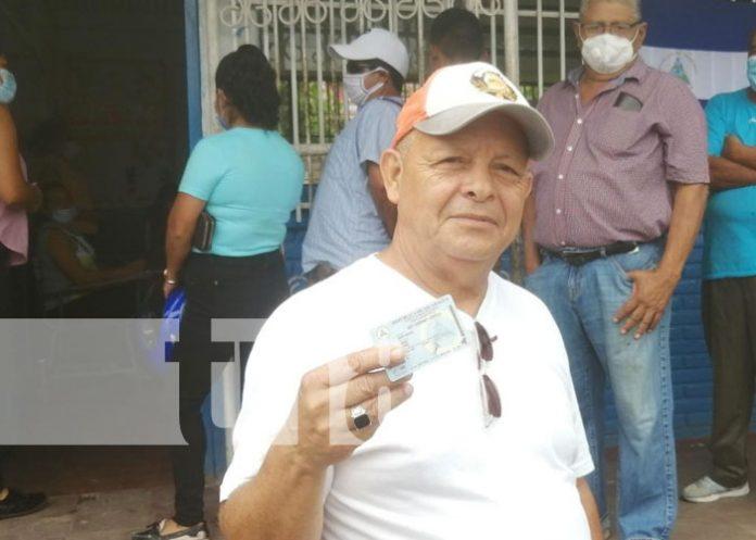 Foto: Ciudadanos se verifican en Boaco / TN8