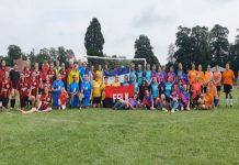 Foto: Celebran Copa Sandino de fútbol en Bristol / Cortesía