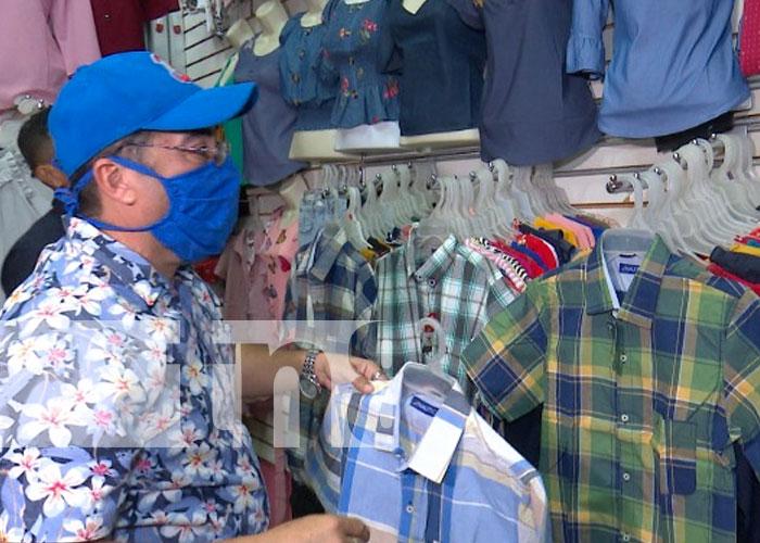 Foto: Llegada de agosto activará el comercio en Managua / TN8