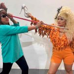 Casi se agarran de los pelos en el set de La Diva Mañanera TN8