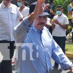 Foto: Presidente de Nicaragua Daniel Ortega se verifica / TN8