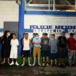 el salvador, detencion, pandilleros, sonsonate, autoridades, policia,