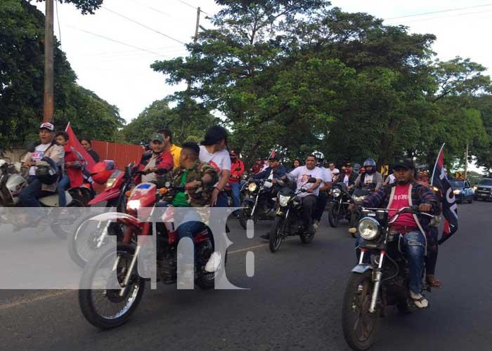 Población celebra el 42/19 de la Revolución en Nicaragua