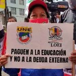 Ecuador, docentes, huelga de hambre, ley organica de educacion intercultural,