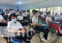 Estudiantes de Nicaragua conocen sobre grandes compositores