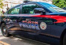 Patrulla de policía estadounidense