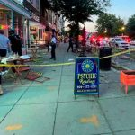 Foto: Al menos dos heridos tras un tiroteo cerca de un restaurante en Washington/Cortesía