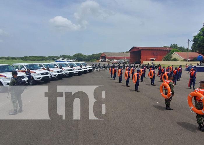 Foto: Entrega de equipos para atención de emergencias / TN8