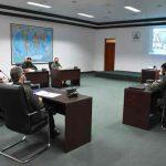 Ejército de Nicaragua sostiene reunión con Fuerzas Armadas de Honduras