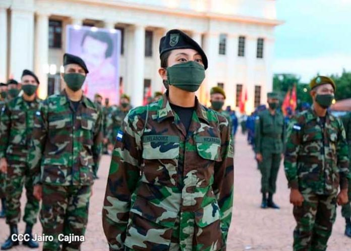 Se celebra el 42 Aniversario del Ejército de Nicaragua