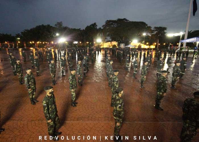 Acto por el 42 Aniversario de la Fuerza Aérea del Ejército de Nicaragua