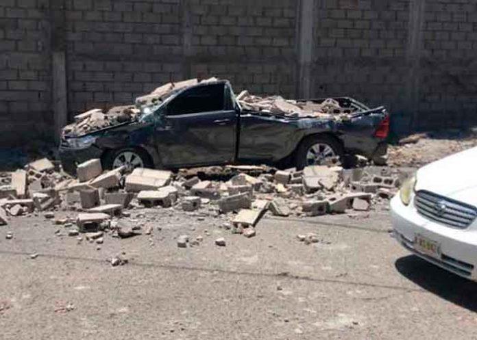 Embarazada muere al caerle un muro en Choluteca