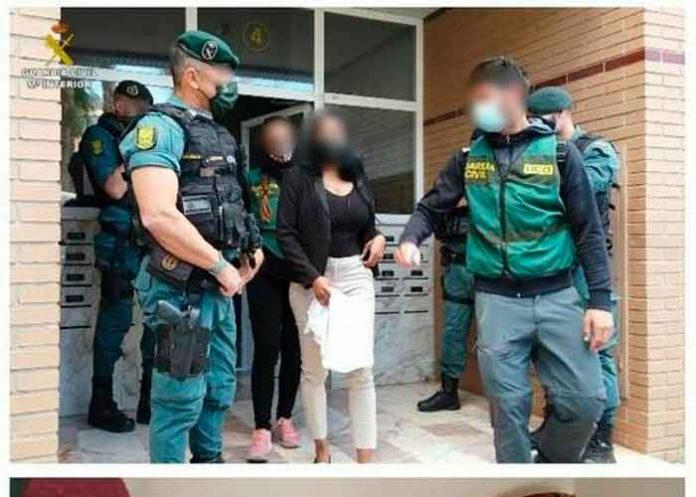 Policía de España desarticula red de explotación sexual