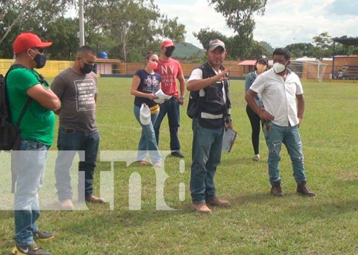 Comuna de Ocotal realizará inversiones para mejoramiento de estadio de fútbol / FOTO / TN8