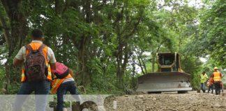 Foto: Adoquinarán carretera que une a Pueblo Nuevo y San Juan de Limay / TN8