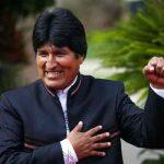 Evo Morales saluda 42 aniversario de Revolución Popular Sandinista