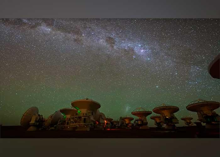 El impresionante disco rodea un exoplaneta