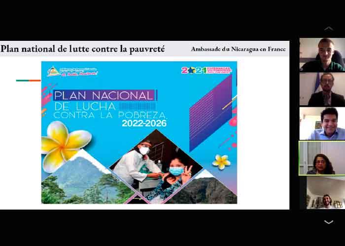 Embajada de Nicaragua realiza encuentro en Francia con estudiantes universitarios