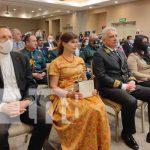Acto por la condecoración al Embajador de Rusia en Nicaragua