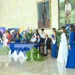 Presentación del Festival Azul Darío, en honor a Rubén Darío, en León