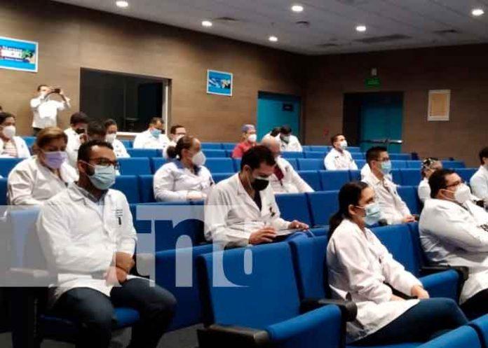 pacientes, minsa, covid, encuentro, personal medico, nicaragua,