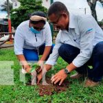Nicaragua, granada, cruzada nacional de reforestacion, autoridades,
