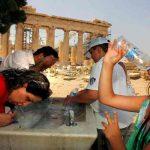 Grecia vive la peor ola de calor de los últimos 35 años