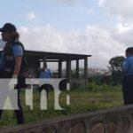 Lugar en Juigalpa donde investigan un crimen de homicidio