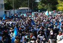 Movilizaciones de Guatemaltecos en rechazo a su presidente