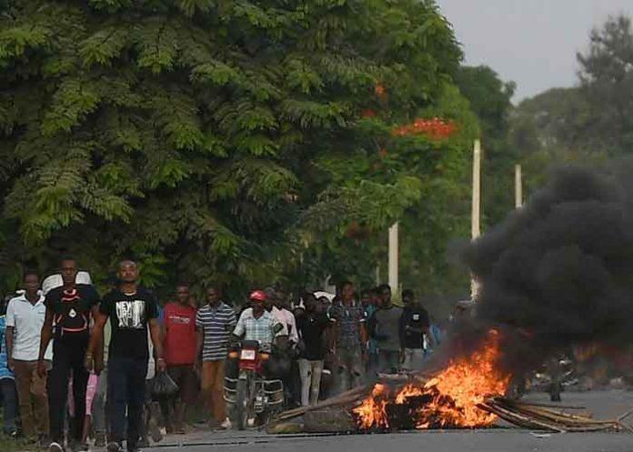Foto: Estalla violencia en Haití antes del funeral de Moïse/Cortesía