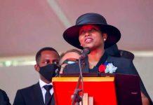 Martine Moïse, viuda del asesinado presidente de Haití Jovenel Moïse
