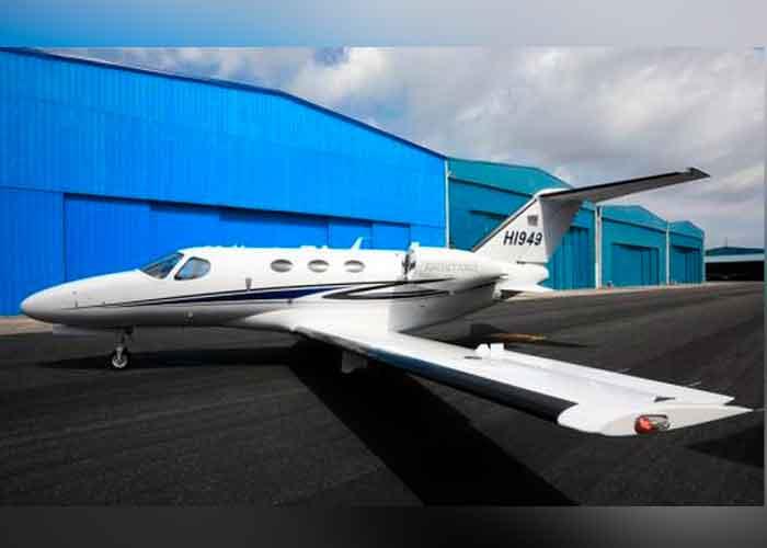 Avión que trasladó a los Asesinos del presidente de Haití