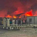 20 muertos tras incendio en hospital para pacientes con covid-19 en Irak