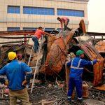 Aumentan a 92 los muertos en incendio en hospital de Irak (VIDEO)