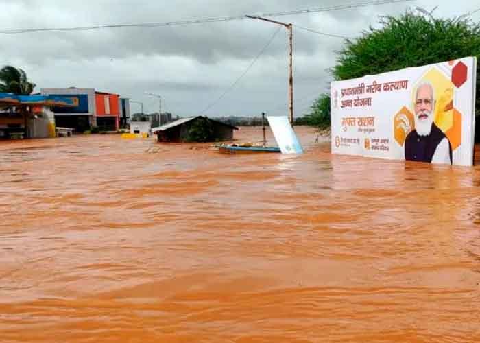 Foto: Al menos 160 muertos y decenas de desaparecidos por lluvias en la India/Referencia