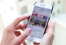Una persona interactúa en un celular en la red social Instagram / FOTO / AFP