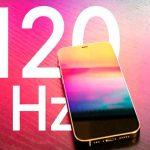 iphone, nuevo modelo, 120 hz, mini,