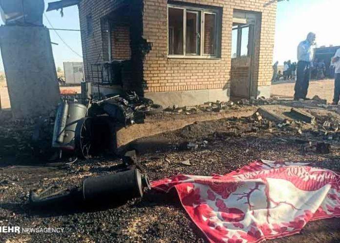 Iran, explosion, oleoducto, tres muertos, cuatro heridos
