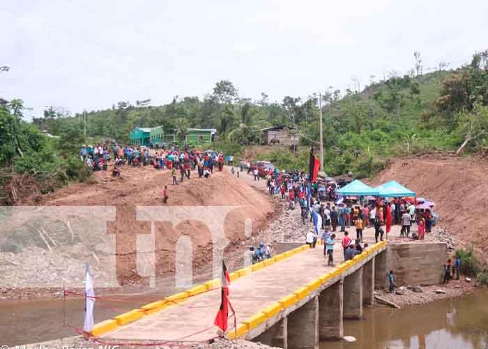 Foto: 42 aniversario de la Revolución con obras de progreso y desarrollo en Siuna/TN8