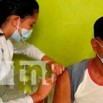 Foto: En Jalapa se aplicó primera dosis de la vacuna sputnik V/TN8
