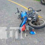 Motociclista de Jalapa se estrella por andar pasado de copas / FOTO / TN8