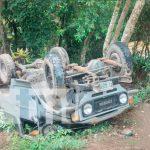 accidente, camioneta, volcada, nueva segovia, nicaragua ,