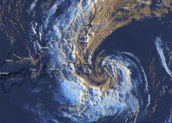 Una tormenta tropical se acerca a Japón en medio de Juegos Olímpicos / FOTO / Twitter