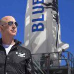 Un vuelo histórico: Jeff Bezos, alcanza el espacio